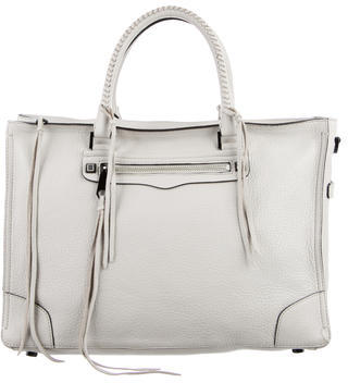 Rebecca Minkoff Leather Regan Satchel $180 thestylecure.com