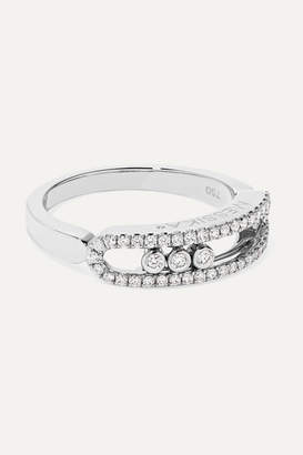 Messika Move Uno 18-karat White Gold Diamond Ring