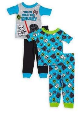 AME Sleepwear Little Boy's Star Wars Pajama Sets