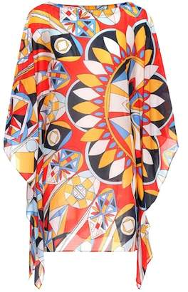 Tory Burch Kaleidoscope cotton and silk kaftan