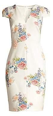 b16176d4 Black Halo Women's Maisie Floral Print Sheath Dress - Size 0