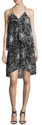 Diane von Furstenberg Serana Popover Halter Dress $228 thestylecure.com