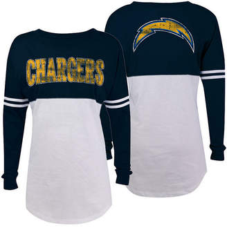d14031012 ... 5th   Ocean Women s San Diego Chargers Sweeper Long Sleeve T-Shirt