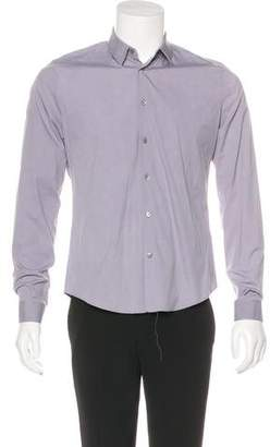 Balenciaga Woven Dress Shirt