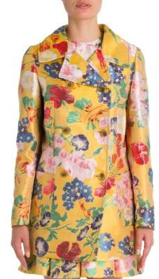 Valentino Valentino Romantic Flower Coat