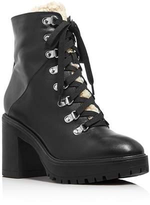 38776b87aafb Aqua Women s Roy Faux Fur Platform Ankle Boots - 100% Exclusive