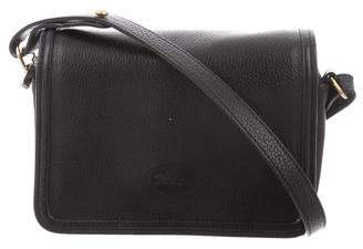 Longchamp Grained Leather Crossbody Bag