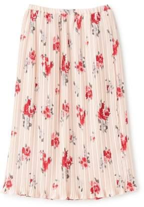 Supreme.La.La (シュープリーム ララ) - シュープリーム ララ ローズプリントプリーツタイトスカート