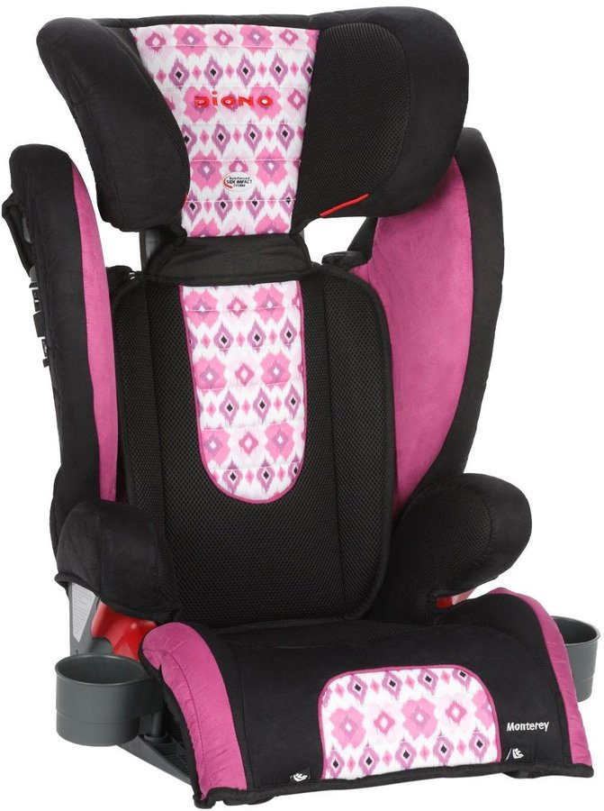 Diono Monterey Highback Booster Seat - Bloom - One Size