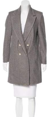 Wes Gordon Double-Breasted Wool Coat