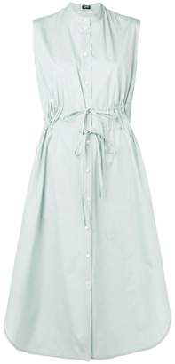 Jil Sander Navy sleeveless shirt dress