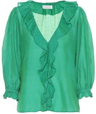 Velvet Lianne cotton and silk blouse