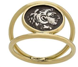 The Great Dubini Alexander Coin 18kt gold ring