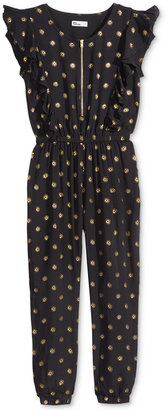 Epic Threads Flutter-Sleeve Jumpsuit, Big Girls (7-16), Only at Macy's $42 thestylecure.com
