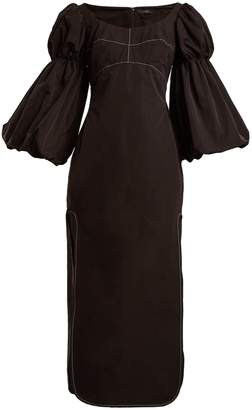 Ellery Sky High bubble-sleeve dress