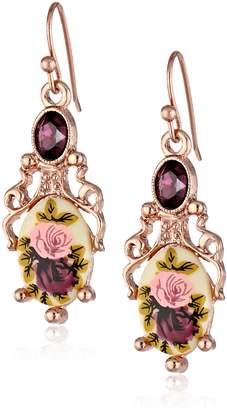 Michael Kors 1928 Jewelry Manor House Filigree Drop Earrings