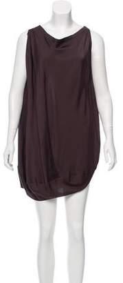 Zero Maria Cornejo Oversize Mini Dress