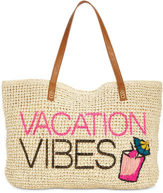 INC International Concepts I.N.C. Mimi Vacation Vibes Tote, Created for Macy's