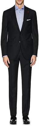 Isaia Men's Sanita Herringbone Wool Two-Button Suit