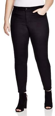 NYDJ Plus Alina Legging Jeans in Black