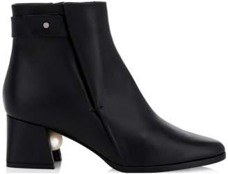 Nicholas Kirkwood Miri Leather Ankle Boots