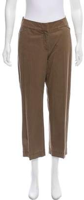 Eileen Fisher Mid-Rise Straight-Leg Pants w/ Tags