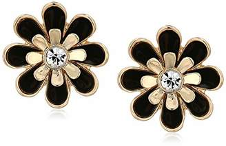 GUESS Gilded Romance Women's Button Post Earrings