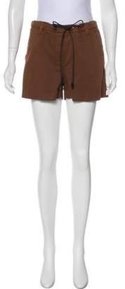 Brunello Cucinelli Mid-Rise Mini Shorts