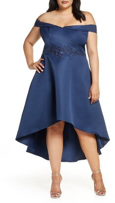 Chi Chi London Amour Off the Shoulder Dress