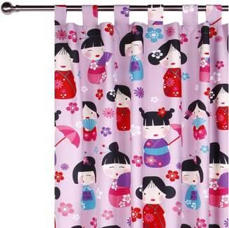 China Doll Happy Kids Glow in the Dark Curtain