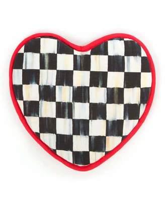 MacKenzie-Childs Courtly Check Heart Pot Holder