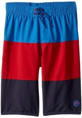 Speedo Kids Blocked Volley Shorts Boy's Swimwear