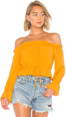 About Us Keysha Off Shoulder Top