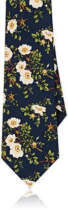 Gucci Men's Floral-Print Silk Necktie $200 thestylecure.com