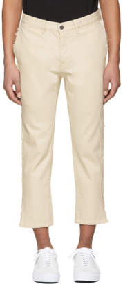 Wonders Ivory Shift Cropped Jeans