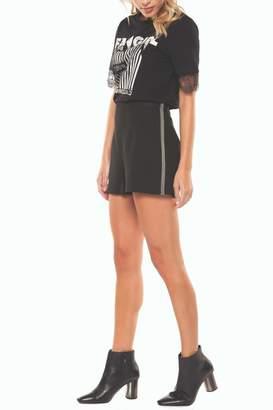 Dex Tape-Beaded Side Shorts