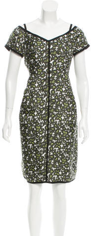 Marc JacobsMarc Jacobs Silk Printed Dress