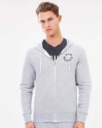 New Balance Core Fleece Full Zip Hoodie - Mens