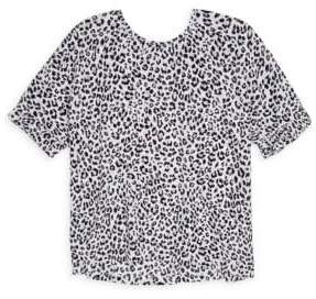 Splendid Girl's Leopard-Print Top