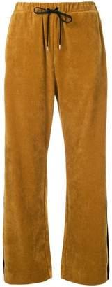 G.V.G.V. corduroy track trousers