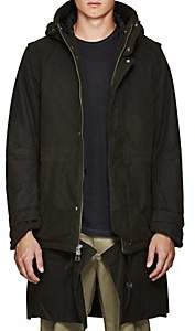 Chapter MEN'S HEAVYWEIGHT COTTON CANVAS COAT - OLIVE SIZE S