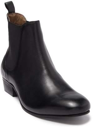 Topman Rein Leather Chelsea Boot