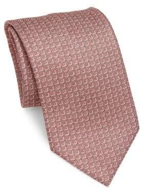 BrioniBrioni Square Patterned Silk Tie