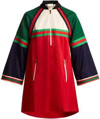 Gucci Striped jersey dress