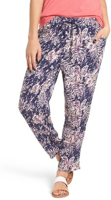 Roxy Electric Mile Print Woven Pants $44.50 thestylecure.com