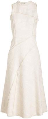 Proenza Schouler Boucle Tweed Dress with Cotton