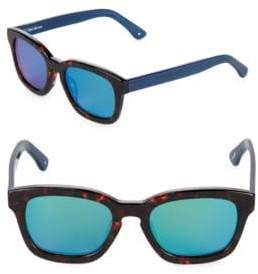 52MM Csa Square Sunglasses