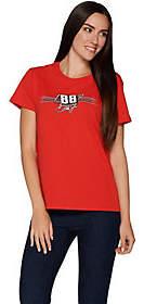 Nascar Dale Earnhardt Jr. Women's Hen.MotorGraphic T-Shirt