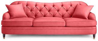 Kate Spade Drake Tufted Sofa - Begonia