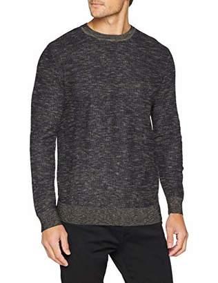 Tom Tailor Casual Men's Strickpullover, Pullover Mit Höhrem Kragen Jumper,Medium
